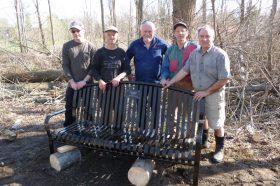 New Memorial Bench in Honour of Marion Lindsay