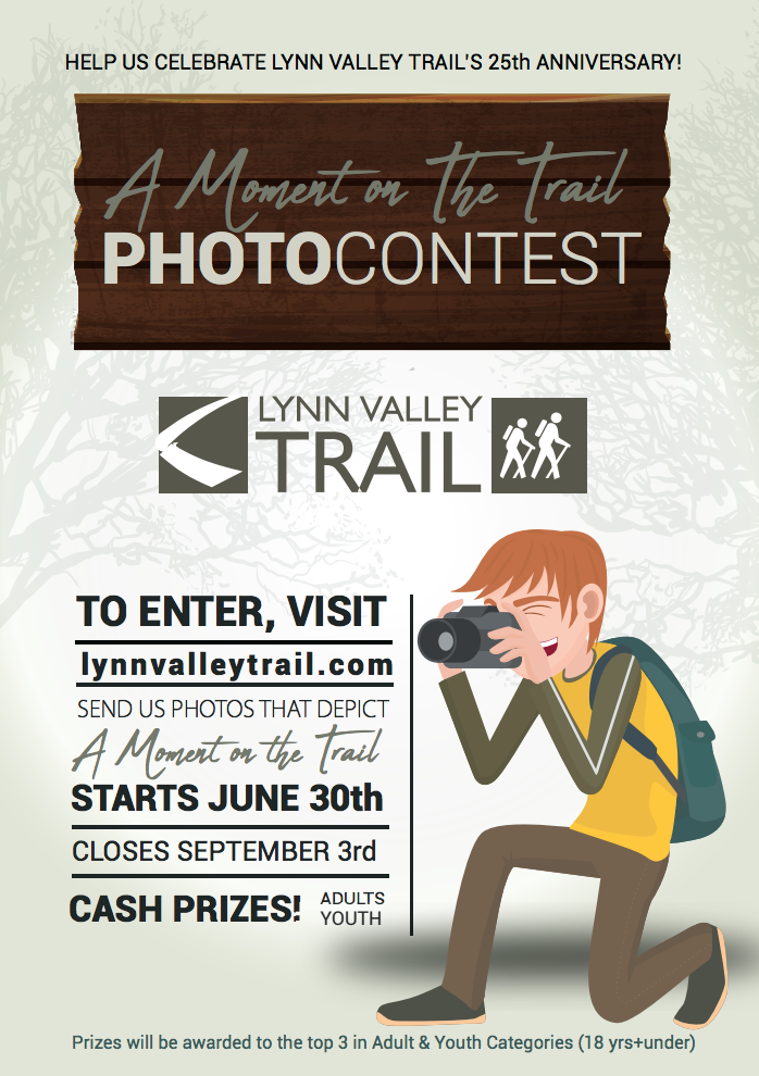 Lynn Valley Trail Photography Contest: A Moment on the Trail