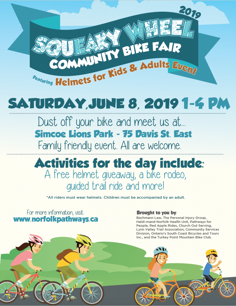 Squeaky Wheel Community Bike Fair: Helmets For Kids & Adults