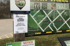 UPDATE: Trails Opened in Haldimand-Norfolk with Social Distancing Regulations