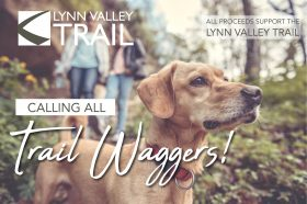For a $25 Donation Your Dog Can Become A Trail Wagger!