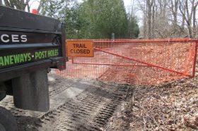 TRAIL IS NOW OPEN: Ireland Road to Decou Road